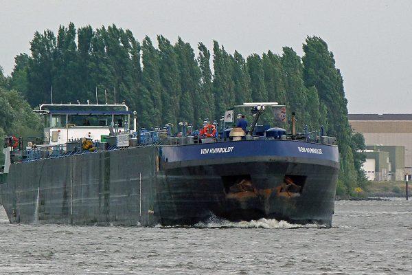 Vacature Stuurman met Rijnpatent MTS von Humboldt